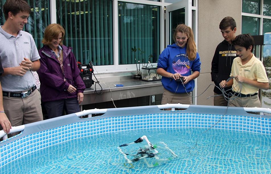 Middle school underwater rovs